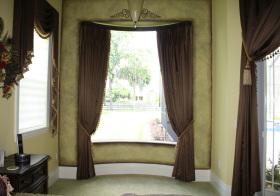 美式高端窗帘设计美图
