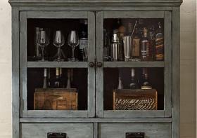 复古老式酒柜美图欣赏