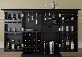 奢华实用型酒柜欣赏