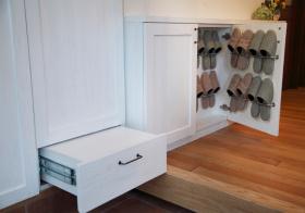 简约风格鞋柜装修图片
