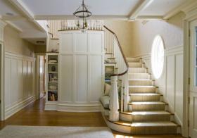 典雅欧式风格楼梯装修图片
