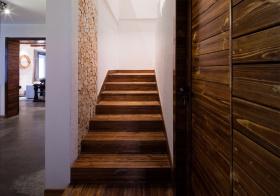 居家混搭风格楼梯装修图片