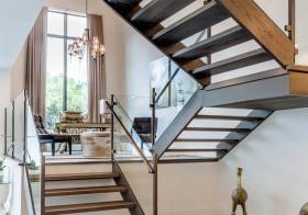 创意简欧风格楼梯装修图片