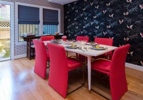 个性简约餐厅装修设计