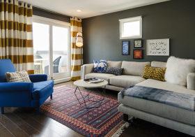 布艺宜家客厅设计效果