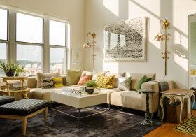 雅致简约客厅设计美图