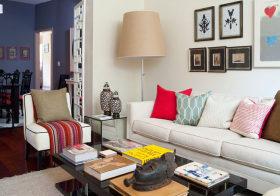 舒适宜家客厅设计效果