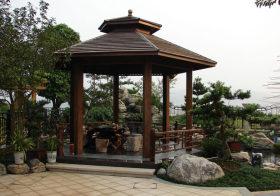 庭院中式花园欣赏