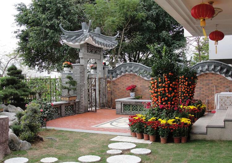 中式庭院花园欣赏