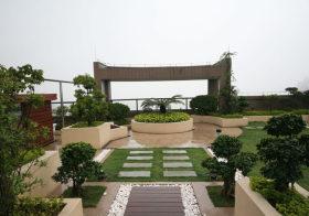 现代别墅花园欣赏