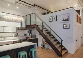 Loft现代风楼梯装修图片