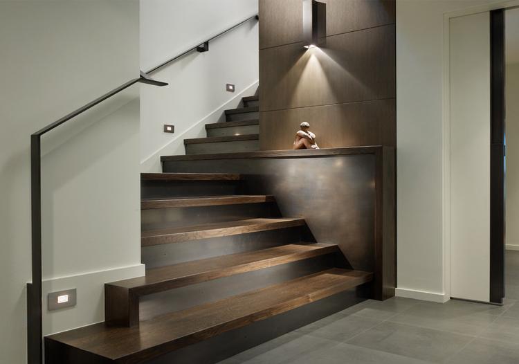 極簡現代風格樓梯裝修圖片