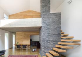 家装混搭风格楼梯装修图片