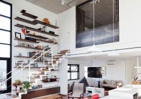 创意简约风格楼梯装修图片