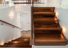 温暖简约北欧风格楼梯装修图片
