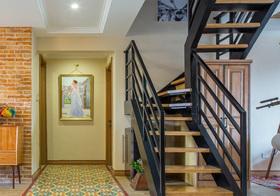 时尚混搭风格楼梯装修图片