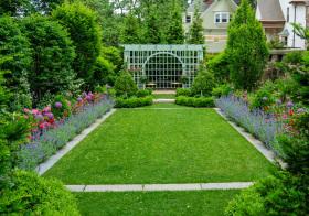 优雅现代花园设计
