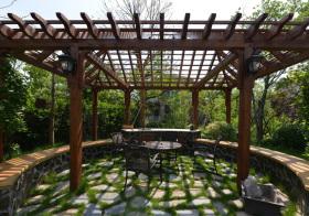 典雅中式花园设计