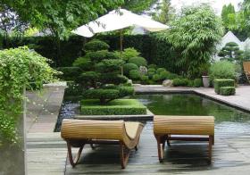 清新现代花园欣赏