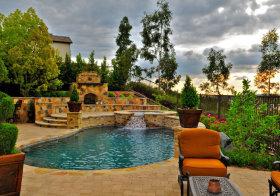 美式别墅花园欣赏