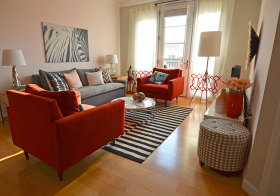 温馨宜家客厅设计参考