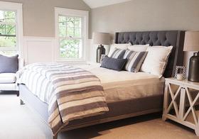 舒适简约卧室装修案例