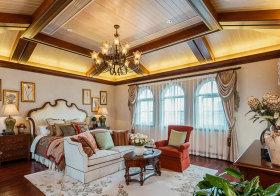 大气欧式卧室装修效果