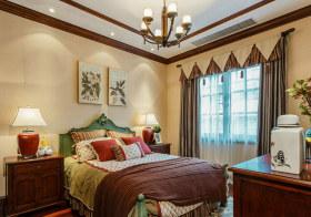 文艺美式卧室装修设计