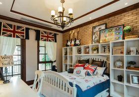 可爱美式卧室设计效果