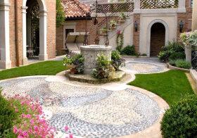 优雅地中海花园美图