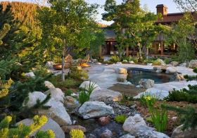 宁静田园花园欣赏