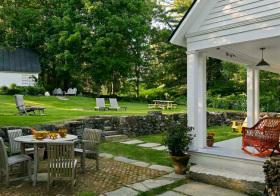 宁静美式花园欣赏