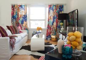 波西米亚风窗帘设计美图