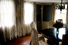 自然树枝状窗帘装修美图