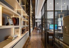 玻璃房现代过道设计