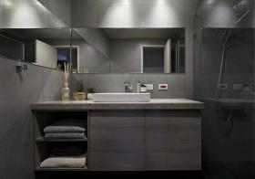 现代浴室柜设计