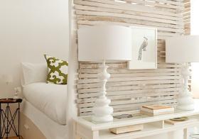 现代卧室隔断美图