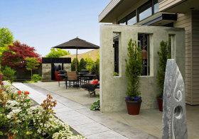 典雅现代花园美图