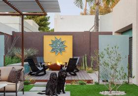 优雅现代花园欣赏