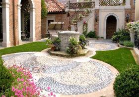 清新地中海花园设计