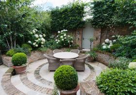 优雅田园花园设计