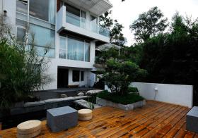 精致现代花园设计