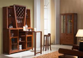 美式现代酒柜装修美图