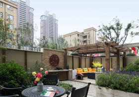 芬芳现代花园设计