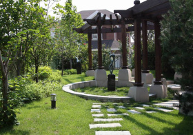 明丽现代花园设计