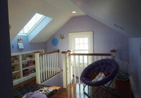 紫色宜家阁楼欣赏