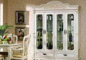 欧式典雅酒柜设计美图