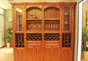美式实用型酒柜实景图