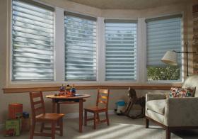 静谧现代飘窗装修设计图