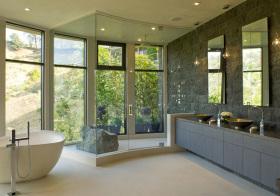 现代玻璃飘窗设计美图